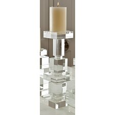 Brilliant Pillar Crystal Candlestick