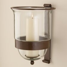 Simple Grande Wall Hurricane Candle Holder