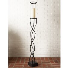 Willow Floor Hurricane Candle Holder