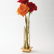 Single Bamboo Vial Holder Vase