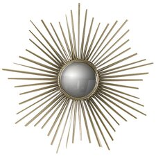 <strong>Global Views</strong> Mini Sunburst Mirror in Nickel