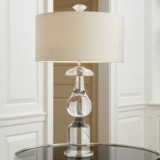 "Classic Bulb 30.25"" H Table Lamp with Drum Shade"