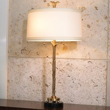 "Organic 31.5"" H Table Lamp with Empire Shade"