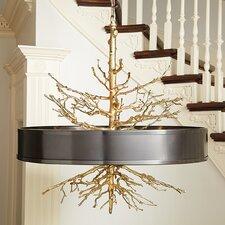 Twig 4 Light Drum Pendant