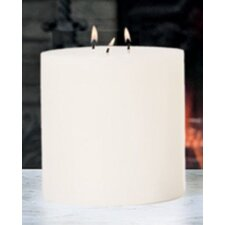 <strong>Global Views</strong> Unscented 3 Wick Pillar Candle