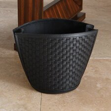<strong>Global Views</strong> Woven Waste Basket