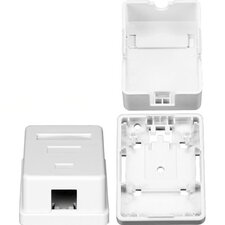 One RJ45 Cavity Surface Mount Box