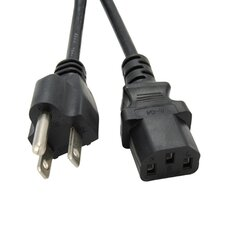6 ft. 3 Prong C13 Power Cord