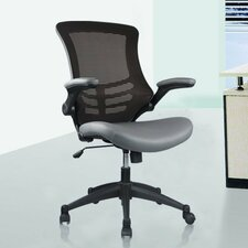 <strong>Manhattan Comfort</strong> Luxurious High-back Mesh Office Chair with Casters