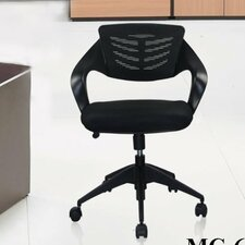 <strong>Manhattan Comfort</strong> Urban Mid-back Mesh Office Chair with Casters