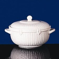 Nantucket Basket Covered Vegetable Dish