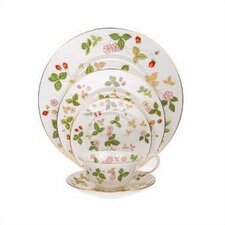 Wild Strawberry 5 Piece Place Setting
