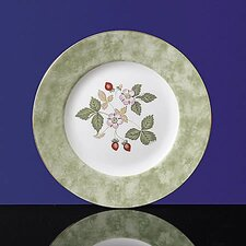 "Wild Strawberry 8"" Accent Salad Plate"
