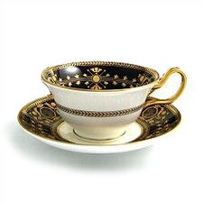 Black Astbury Tea Saucer