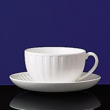 Night & Day Checkerboard Tea Saucer
