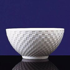 "<strong>Wedgwood</strong> Night and Day 8"" Salad Bowl"