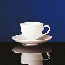 Wedgwood White Leigh Teacup