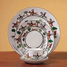 Hunt Scene Dinnerware Set