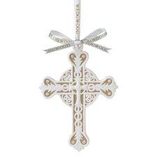 Figural Cross Ornament