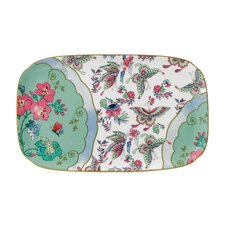 "Butterfly Bloom 6"" Rectangular Sandwich Tray with Gift Box"
