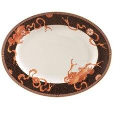 """Dynasty 14.9"""" Oval Platter"""