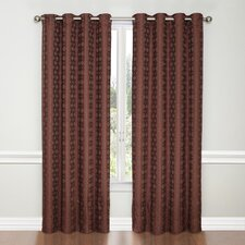 Miranda Woven Grommet Drape Curtain Panel