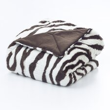 <strong>Vue by Ellery</strong> Zebra Polyester Throw Blanket