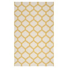 Frontier White/Golden Yellow Rug