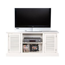 "52"" TV Stand in Antique White"