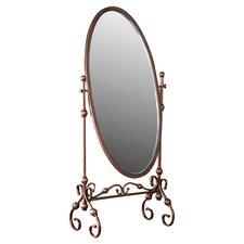 Vanderbilt Mirror in Antique Bronze