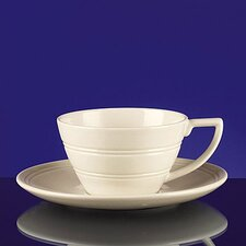 Casual Cream Small Tea Saucer