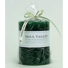 Evergreen Scented Pillar Candle