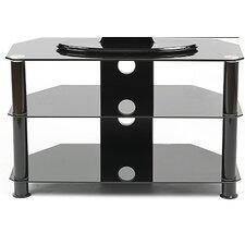 lcd tv regal mit 3 ablagen. Black Bedroom Furniture Sets. Home Design Ideas