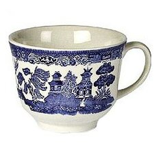 Willow Blue Teacup (Sets of 6)