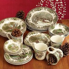 Friendly Village 5 Piece Place Setting