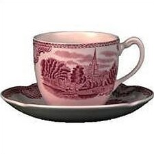 Old Britain Castles Pink Teacup (Set of 6)