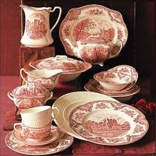 <strong>Johnson Brothers</strong> Old Britain Castles Pink Dinnerware Set