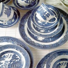 <strong>Johnson Brothers</strong> Willow Blue Dinnerware Set