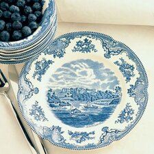 <strong>Johnson Brothers</strong> Old Britain Castles Blue Dinnerware Set
