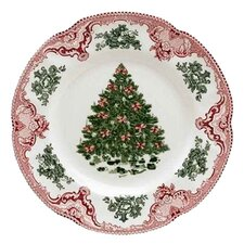 Old Britain Castles Christmas Salad Plate