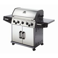 "12.8"" Rebel Propane Gas Grill with Premium Rotisserie"