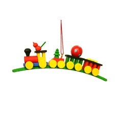 Train with Toys Ornament