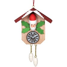 Santa Clock Ornament