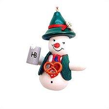 Bavarian Snowman Ornament
