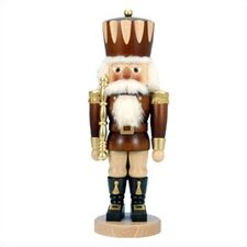 <strong>Christian Ulbricht</strong> Tall Natural Wood Finish Prince Nutcracker