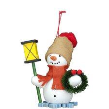 Snowman Lantern Ornament