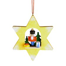 Nutcracker Star Ornament