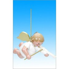 Angel and Violin Ornament