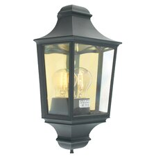 Turin Outdoor 1 Light Wall Flush Light