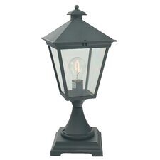 Turin 1 Light Pedestal Lantern